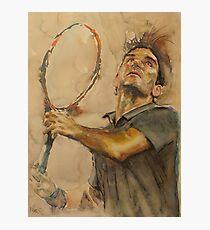 Lámina fotográfica Roger Federer - 1