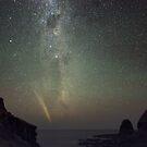 Rising Comet Lovejoy  by Alex Cherney