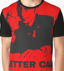 Better Call Saul (Red) Graphic T-Shirt