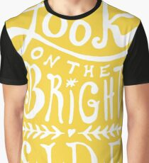 Look On The Bright Side Graphic T-Shirt