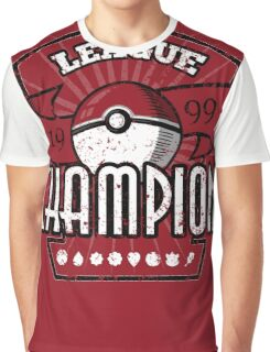 Pokemon League Champion Graphic T-Shirt