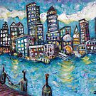 Boston Harbor by Jason Gluskin
