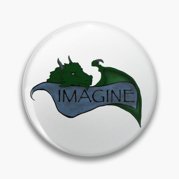 Imagine Dragon Pin