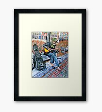 Guitar Man Framed Print