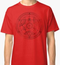 Human transmutation circle - charcoal Classic T-Shirt