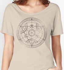 Human transmutation circle - charcoal Women's Relaxed Fit T-Shirt