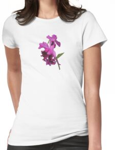 Orchid Harold Carls Womens Fitted T-Shirt