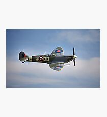 Spitfire Mk9 Photographic Print