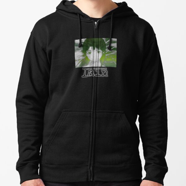 Serial Experiments Lain Zipped Hoodie