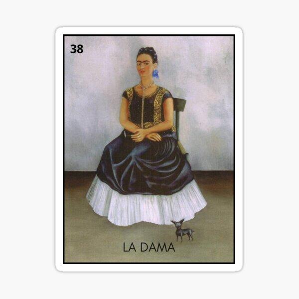 Frida Loteria  Sticker
