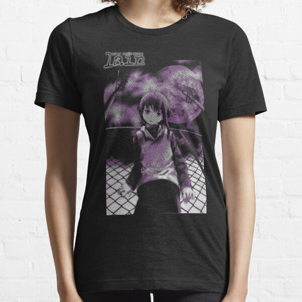 Serial Experiments Lain Essential T-Shirt