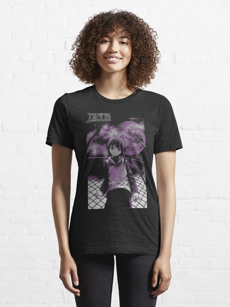 Alternate view of Serial Experiments Lain Essential T-Shirt