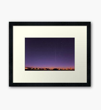 Comet Lovejoy  Framed Print
