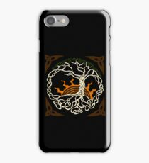 Celtic knot tree iPhone Case/Skin