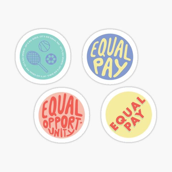 Women's Equality Sticker Pack Sticker