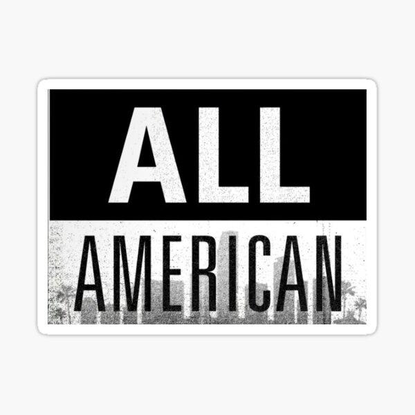 All American logo sticker Sticker
