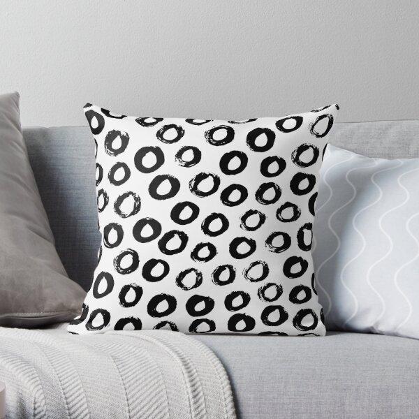 MANDALA PATTERN CIRCLE Throw Pillow