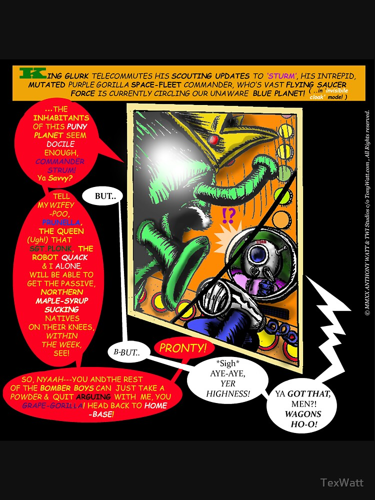 """Brother Soul Comix! - Book #Zero!  """"Gross Encounters!"""" -Page #7 [Self-Pressed to PRINT a page-a-day ] by TexWatt"""
