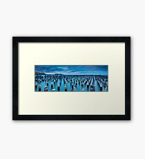 Princes Pier-4 Framed Print