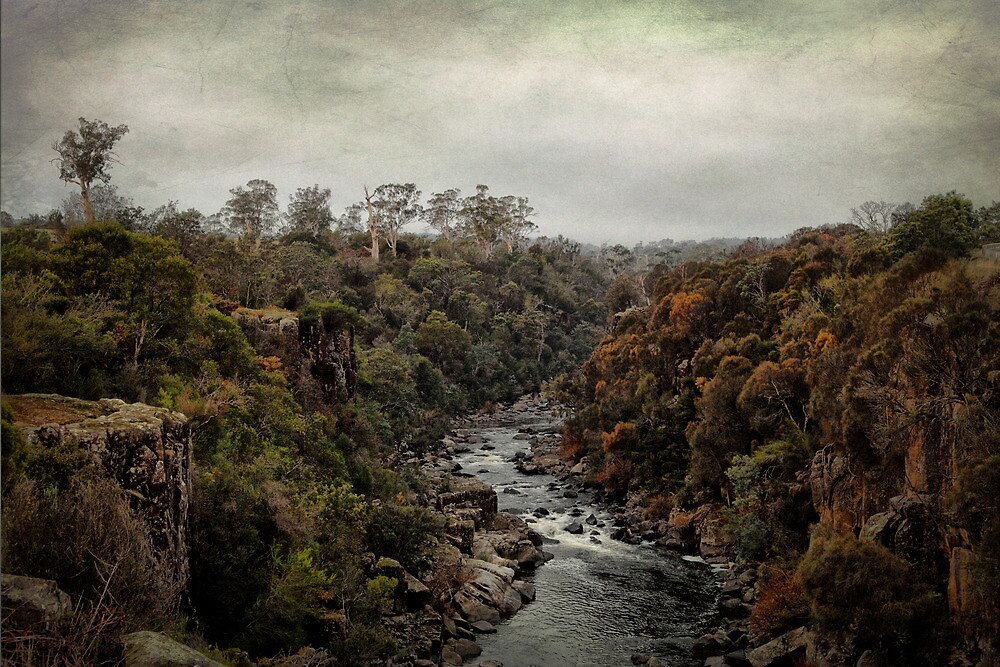 North Esk River by Ralph  Meznar