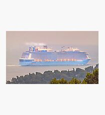 anthem of the seas. a huge ship Photographic Print