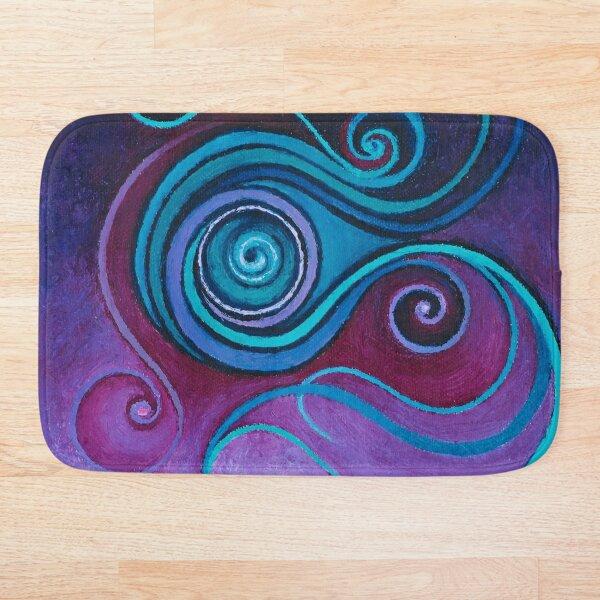 Cosmic Spiral  Bath Mat