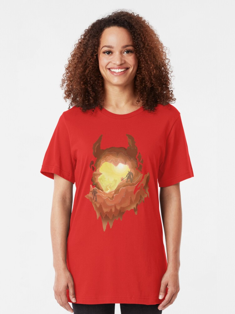 Marauder S Hell Doom Eternal T Shirt By Vertei Redbubble