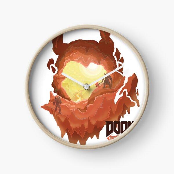 Doom 4 Clocks Redbubble