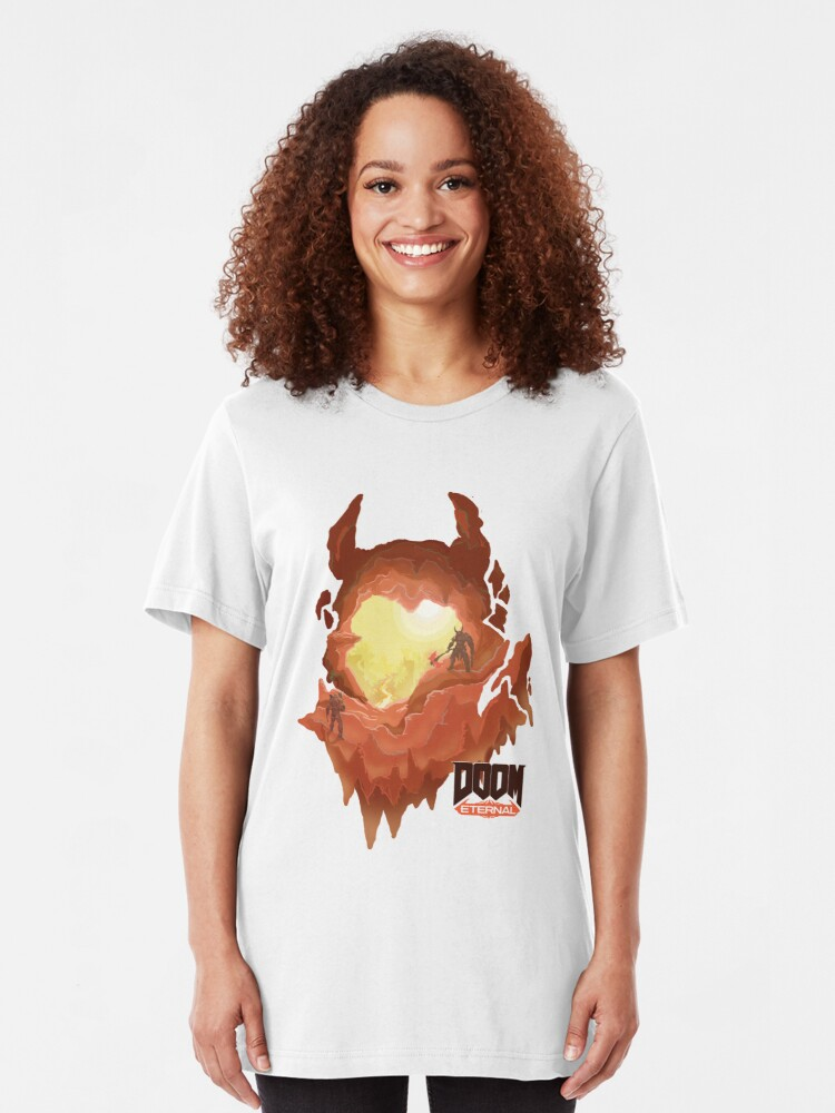 Marauder Hell Doom Eternal T Shirt By Vertei Redbubble