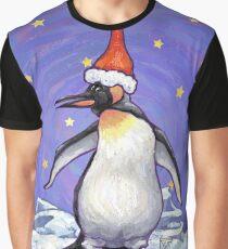 Penguin Christmas Graphic T-Shirt