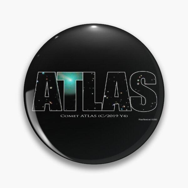 Comet Atlas Pin