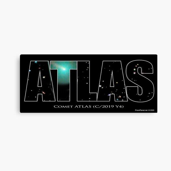 Comet Atlas Canvas Print