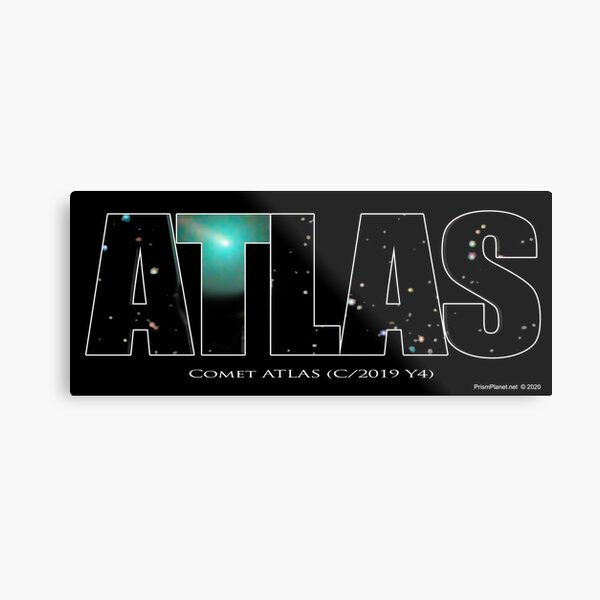 Comet Atlas Metal Print