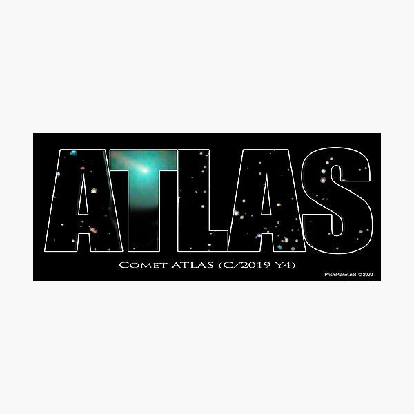 Comet Atlas Photographic Print