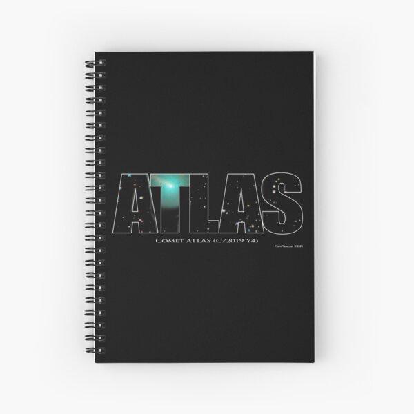 Comet Atlas Spiral Notebook