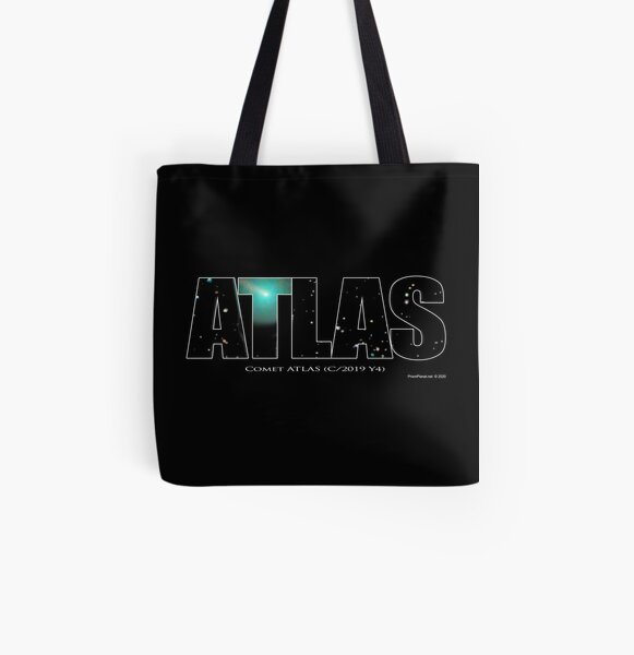 Comet Atlas All Over Print Tote Bag