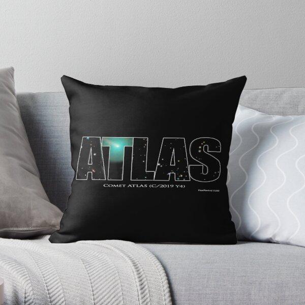 Comet Atlas Throw Pillow