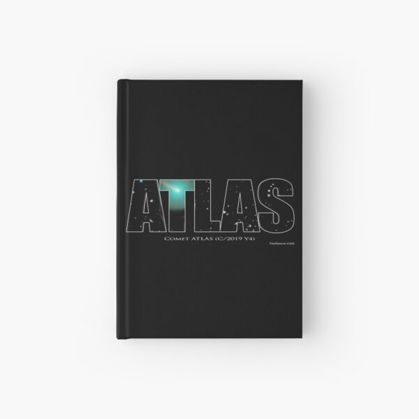 Comet Atlas Hardcover Journal