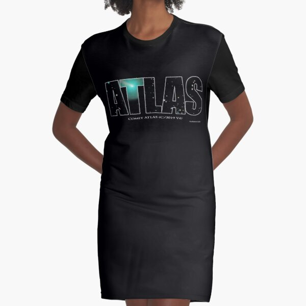 Comet Atlas Graphic T-Shirt Dress
