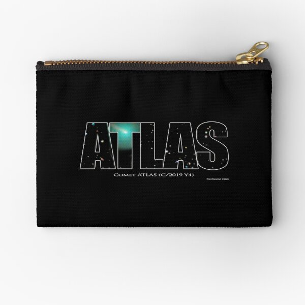 Comet Atlas Zipper Pouch