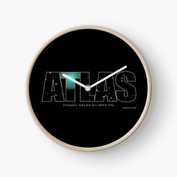 Comet Atlas Clock