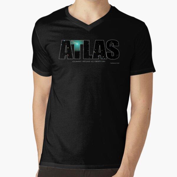 Comet Atlas V-Neck T-Shirt
