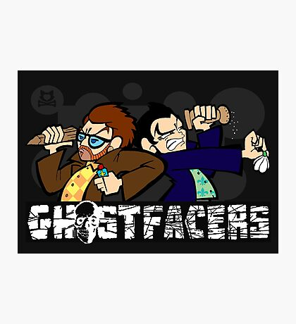 Ghostfacers! Photographic Print