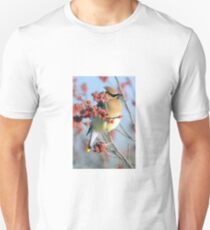 Cedar Waxwing  Slim Fit T-Shirt