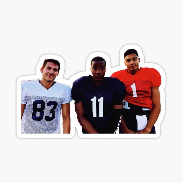 all american football boys spencer jordan asher Sticker