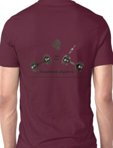 Dumbbell Algebra T-Shirt