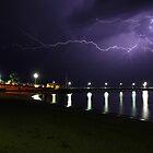 Lightning on The Island by Greg Thomas