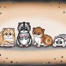 4 herzige Hamster von Pezi-Creation