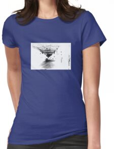 At night Womens Fitted T-Shirt