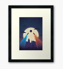 Chasing Balls Framed Print